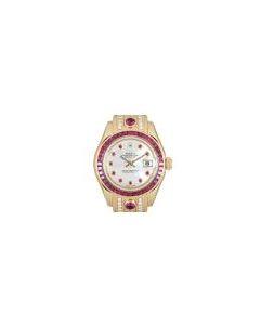 Rolex Datejust Pearlmaster Ruby & Diamond Set Women's Gold 69308RU
