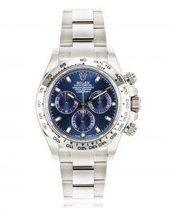 Rolex Daytona White Gold Blue Dial 116509