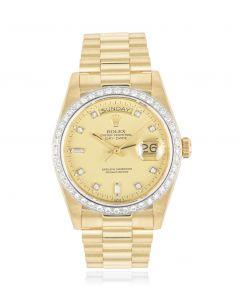Rolex Day-Date Diamond Set 18048