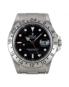 Rolex Explorer II Stainless Steel Black Dial Men's 16570
