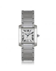 Cartier Tank Francaise Stainless Steel W51002Q3
