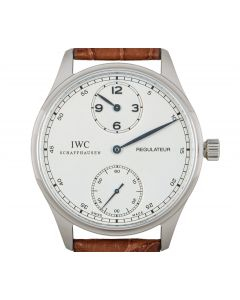IWC Portuguese Regulateur Stainless Steel Men's IW544401