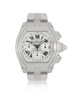 Cartier Roadster Chronograph XL Stainless Steel W62019X6