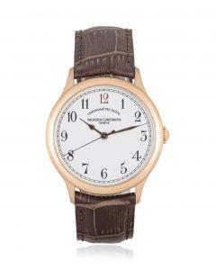 Vacheron Constantin Historiques Chronometre Royal 1907 Rose Gold 86122/000r-9362
