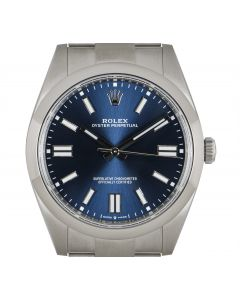 Rolex Oyster Perpetual 41 Bright Blue 124300