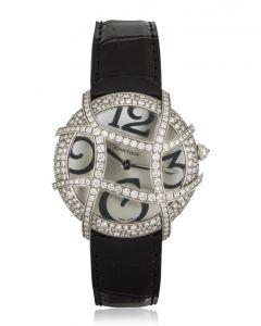 Cartier Ronde Folle Libre White Gold Diamond Set WJ304350