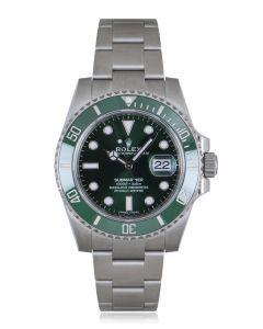Rolex Unworn Submariner Hulk Stainless Steel B&P 116610LV
