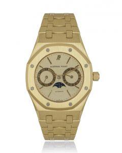 Audemars Piguet Royal Oak Day-Date Moon Phase Yellow Gold Champagne Dial 25594BA