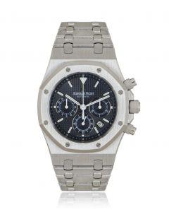 Audemars Piguet Royal Oak Chronograph Stainless Steel Dark Blue Dial 25860ST.OO.1110ST.01