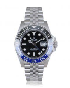 Rolex Unworn GMT-Master II Batman Stainless Steel B&P 126710BLNR