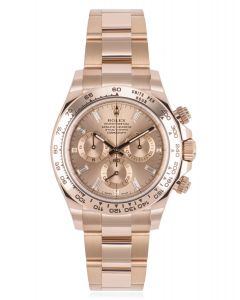 Rolex Daytona Rose Gold Diamond Dial 116505