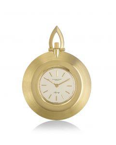 Audemars Piguet Open Face Dress Pocket Watch Retailed By Asprey Yellow Gold