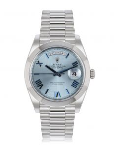 Rolex Day-Date 40 Ice Blue Dial 228206