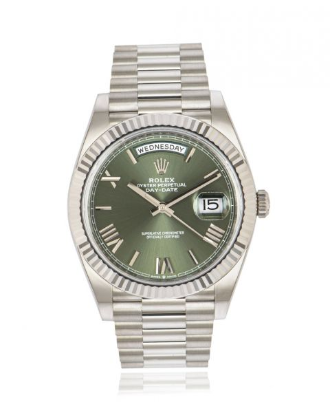 Rolex Day-Date 40 Olive Green Dial 228239