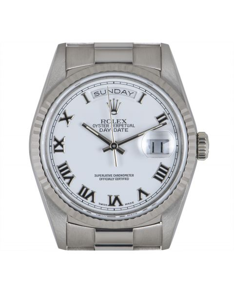 Rolex Day-Date White Gold 18239