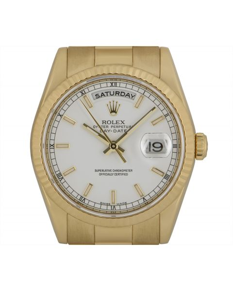 Rolex Day-Date Yellow Gold 118238