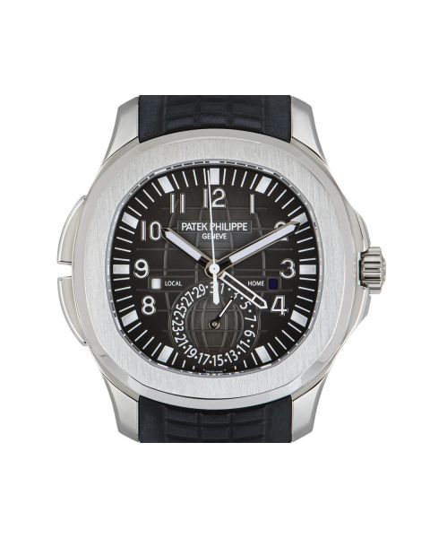 Patek Philippe Aquanaut Travel Time Stainless Steel B&P 5164A-001