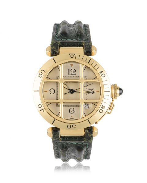 Cartier Pasha Grill Yellow Gold