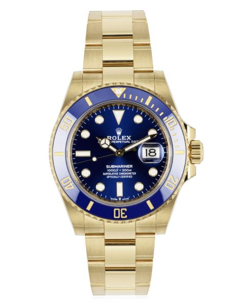 Rolex Submariner Date 41mm Yellow Gold 126618LB